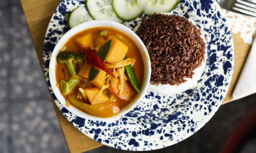 Rosa's Thai Cafe Best Deliveroo options in SW